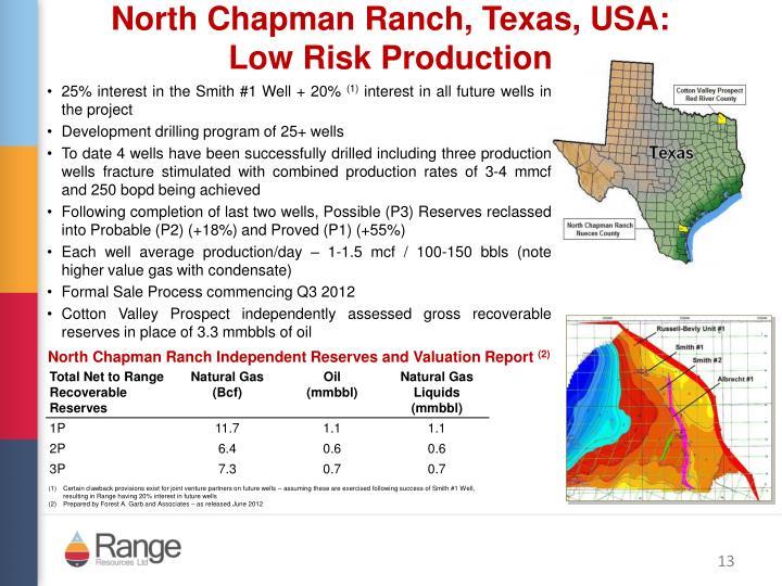 North Chapman Ranch, Texas, USA: