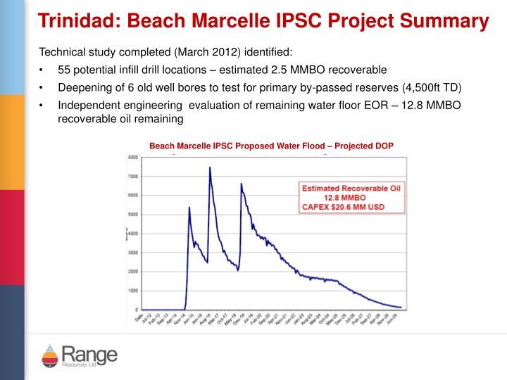 Trinidad: Beach Marcelle IPSC Project Summary