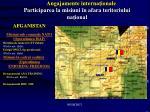 angajamente interna ionale participarea la misiuni n afara teritoriului na ional1