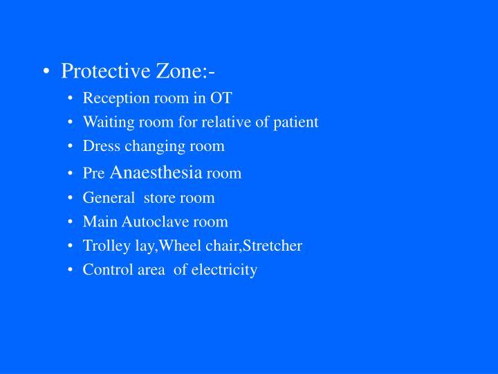Protective Zone:-