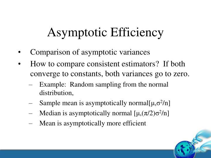 Asymptotic Efficiency