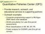 quantitative fisheries center qfc1