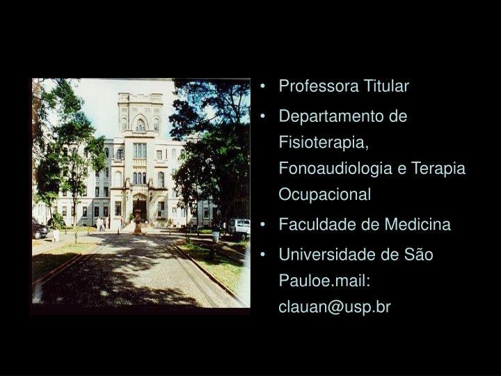 Professora Titular