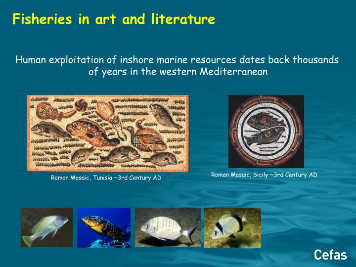 Fisheries in art and literature