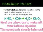 neutralization reactions1