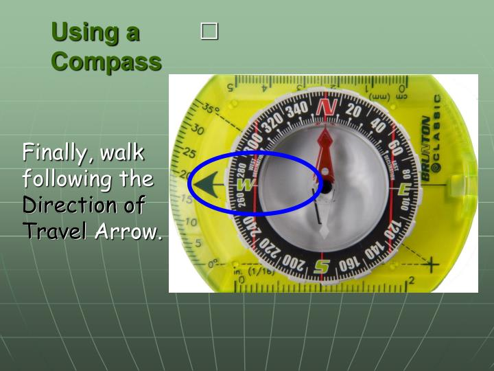 Using a Compass
