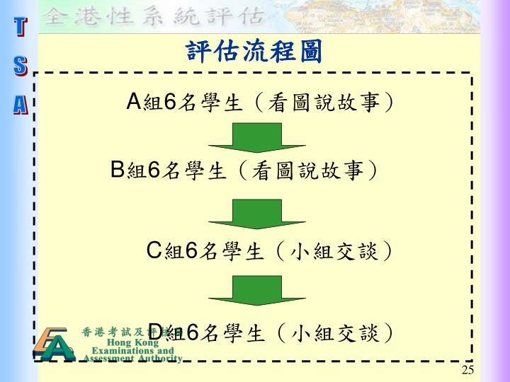 評估流程圖
