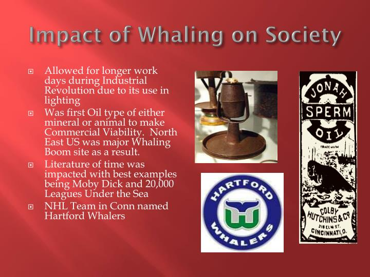 Impact of Whaling on Society