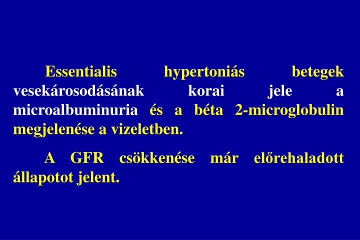 Essentialis hypertoniás betegek