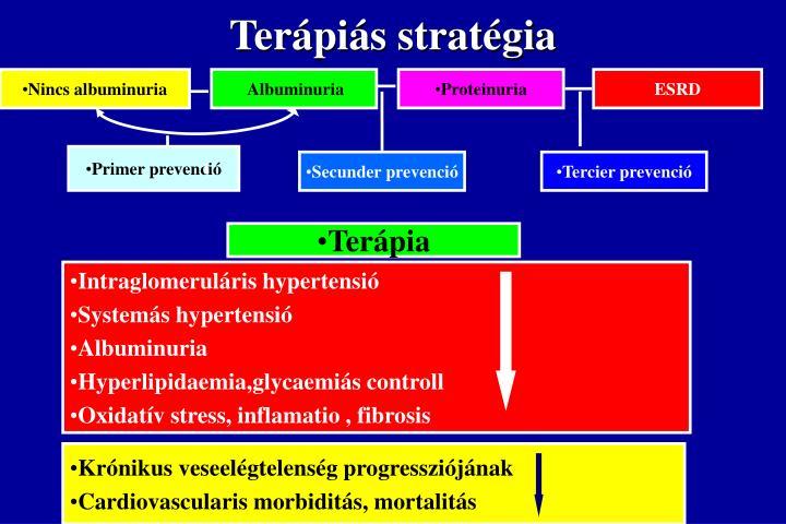 Terápiás stratégia