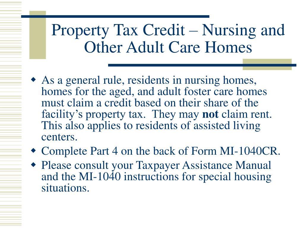 PPT - Accounting Aid Society 2006 Tax Season Michigan Tax Training