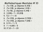math matiques mentales 10