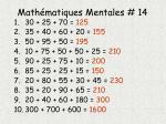 math matiques mentales 141