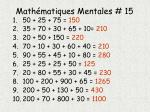 math matiques mentales 151