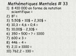 math matiques mentales 33