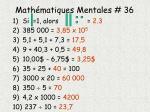 math matiques mentales 361