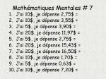 math matiques mentales 7