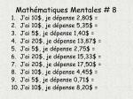math matiques mentales 8