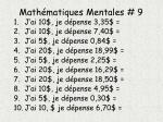 math matiques mentales 9