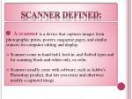 scanner defined