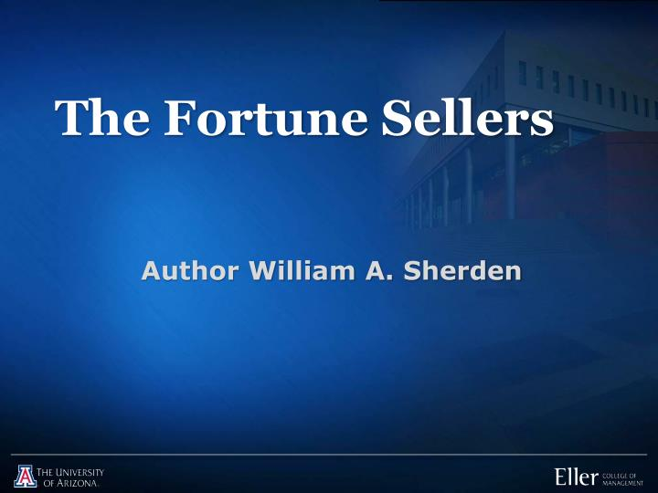 the fortune sellers n.