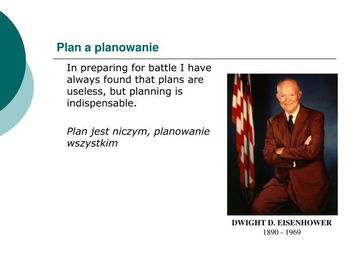 Plan a planowanie
