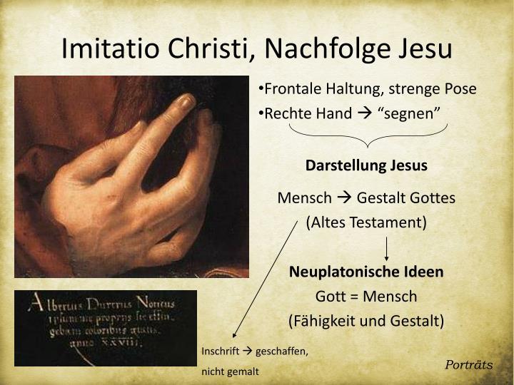 Darstellung Jesus