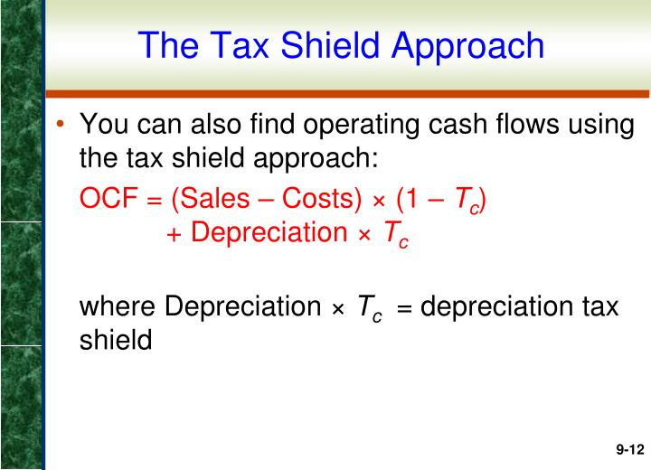The Tax Shield Approach