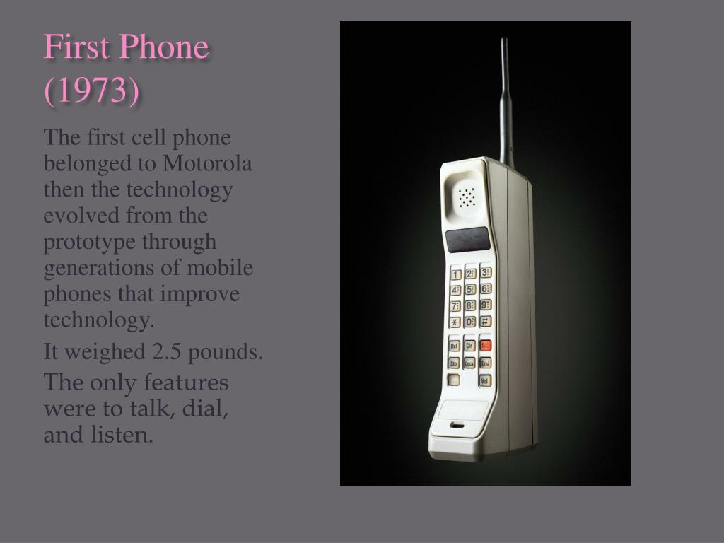 PPT - Cell Phones Past to Present PowerPoint Presentation, free download - ID:5973545