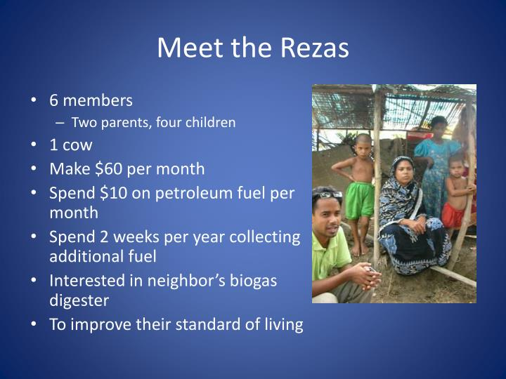 Meet the rezas