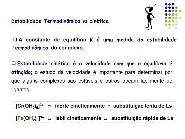 Estabilidade Termodinâmica