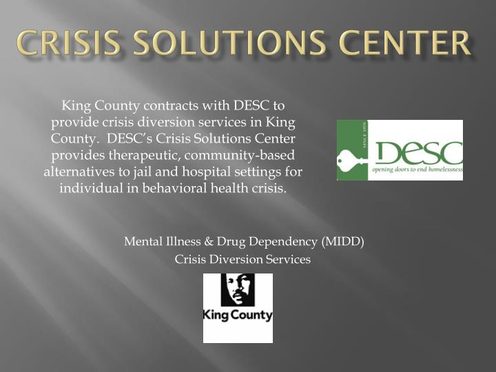crisis solutions center n.