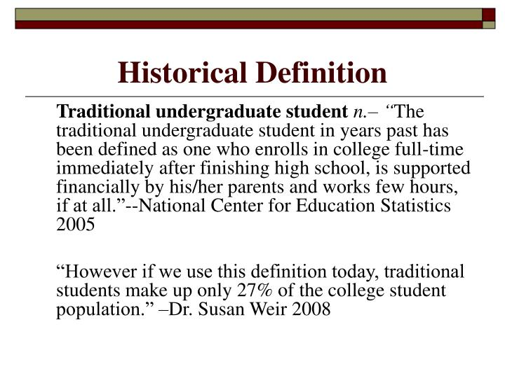 Historical Definition