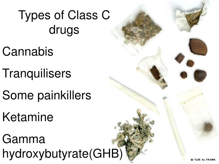 Types of Class C drugs