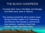 the black hundreds