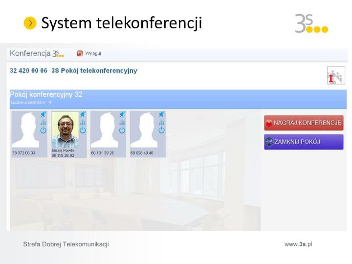 System telekonferencji