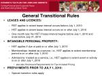 general transitional rules1