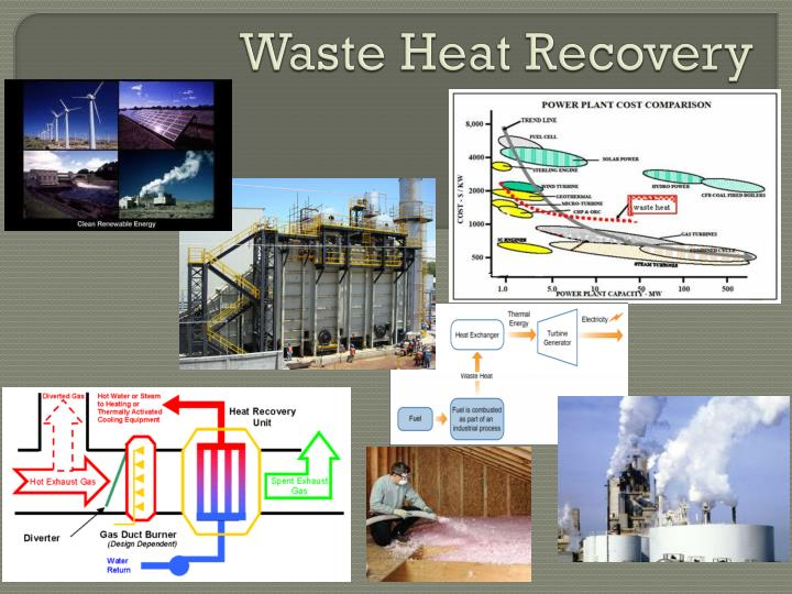 waste heat recovery n.