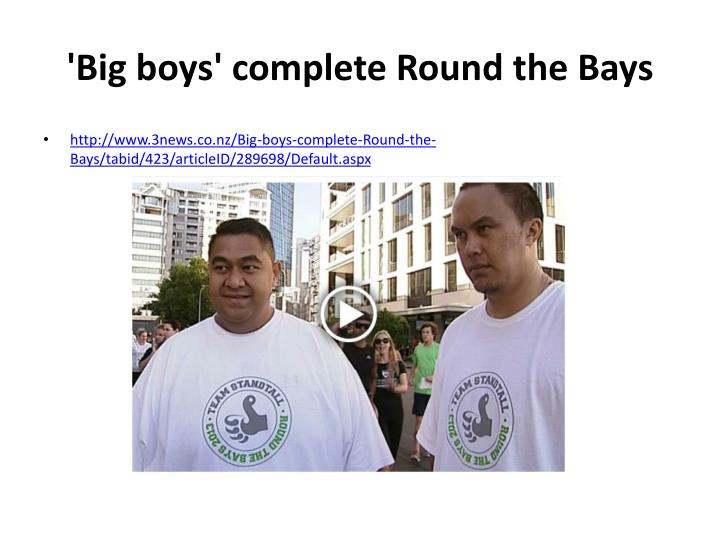 'Big boys' complete Round the