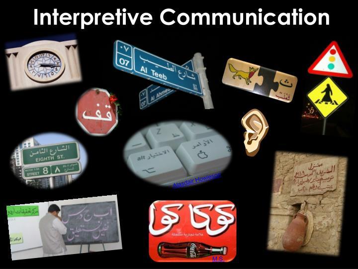 Interpretive Communication