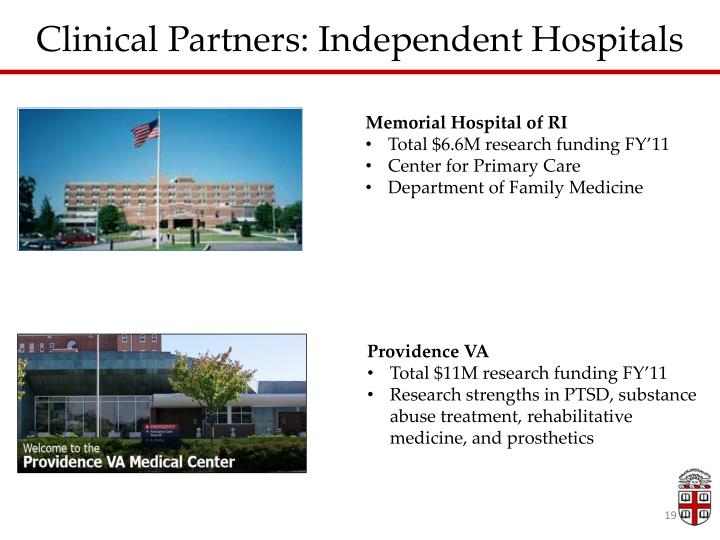 Clinical Partners: Independent