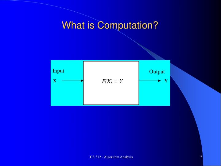 What is Computation?