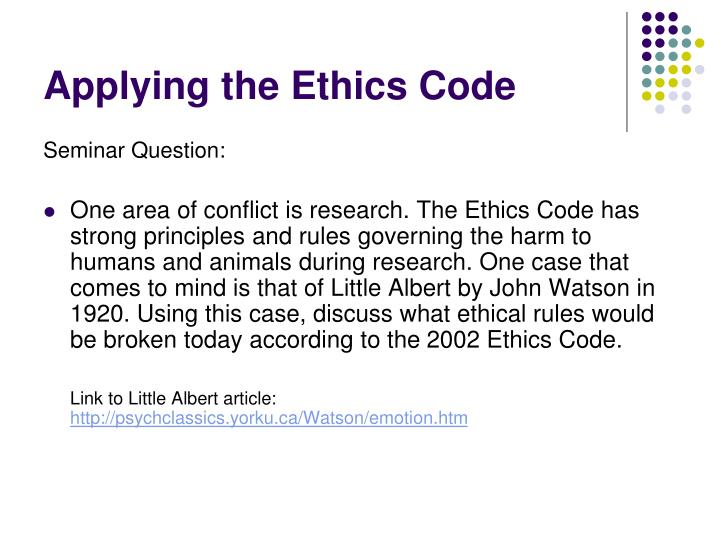 a discussion on the case of ethics We study ethics in order to improve our lives, and therefore its principal concern is the nature of human well-being aristotle follows socrates and plato in taking the virtues to be central to a well-lived life.