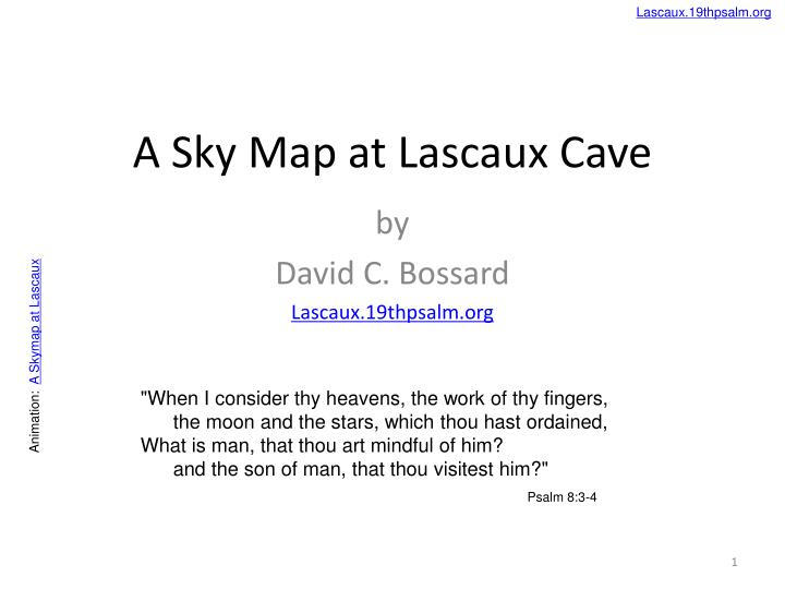 What Is A Star Map.Ppt A Sky Map At Lascaux Cave Powerpoint Presentation Id 5975827