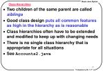 class hierarchies1
