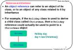 references and inheritance