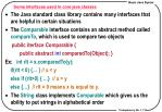 some interfaces used in core java classes