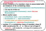 using containing class instance to invoke constructors of member class