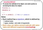 using object methods