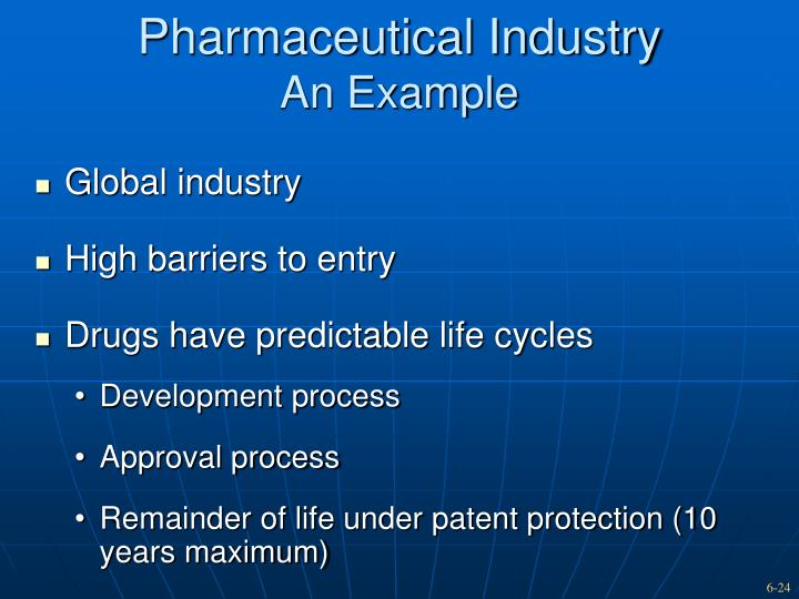 barriers to entry and global pharmaceutical industry essay What are barriers to entry after its patent expires, a drug can be produced in generic form barriers to entry are common in the pharmaceutical industry.